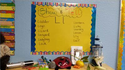 ideas for kindergarten show and tell sea bear s kindergarten phonics show and tell great