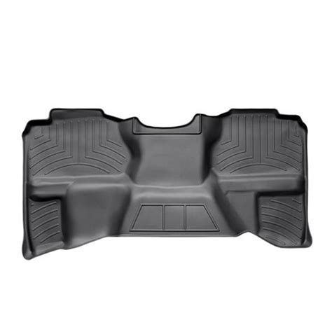 weathertech digitalfit 2nd row floor liner 07 5 13 chevy silverado gmc sierra extended cab