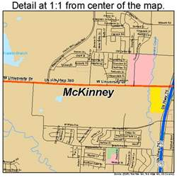 map of mckinney mckinney map 4845744