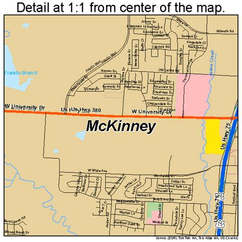 mckinney texas map mckinney texas map 4845744