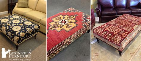 Carpet Ottoman Kilim Upholstered Bench