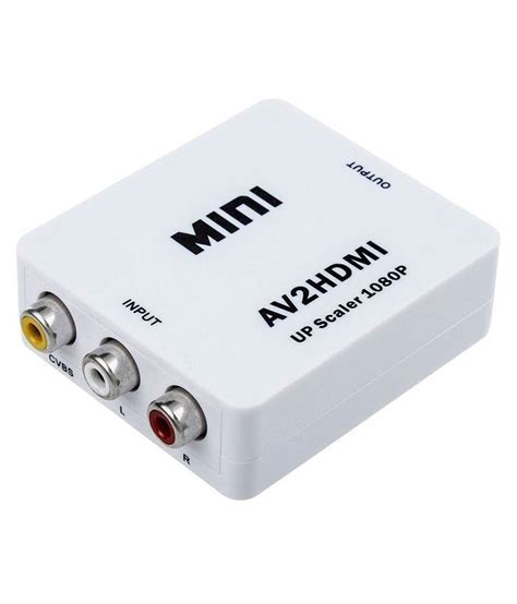 Avpro Hdmi 1080p To Av N S Converter Active Buy Storite Mini Av2hdmi Av Composite To Hdmi 720p 1080p