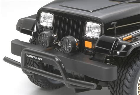 Jeep Square Headlights Tamiya Japan Jeep Wrangler Yj Cc 01 Chassis Rceasy S