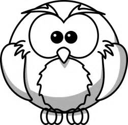 Owl Image Outline by Owl Outline Clip At Clker Vector Clip Royalty Free Domain