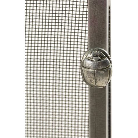 simple fireplace screen modern classic simple iron fireplace screen silver