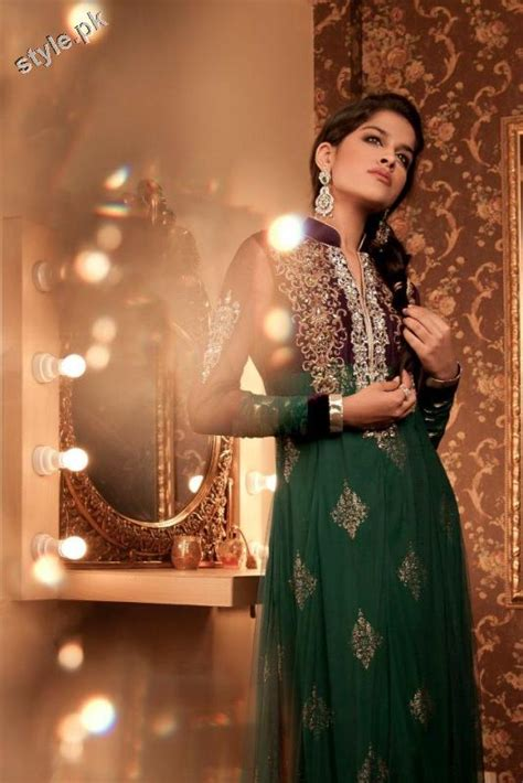 maria b bridal collection wedding and formal dresses colorful embroidered frocks for girls fashion pakistan latest formal bridal dresses 2012 by maria b