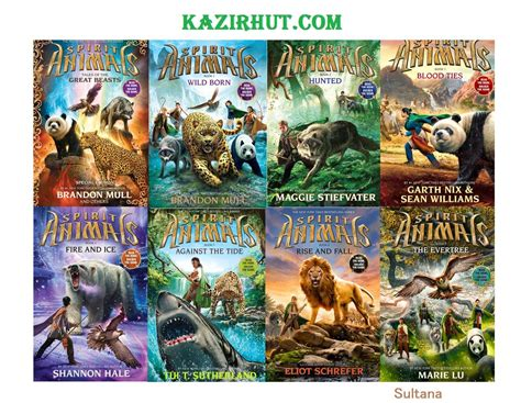 Spirit Book series name spirit animals author brandon mull maggie
