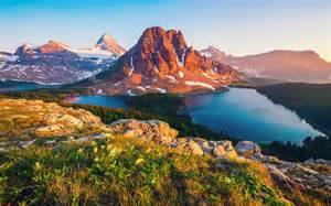 Mountain Lake Canada British Columbia 3840x2400 Hd