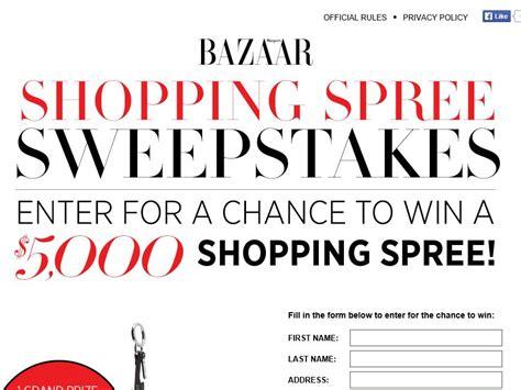 Harper S Bazaar Sweepstakes - harper s bazaar shopping spree sweepstakes sweepstakes fanatics
