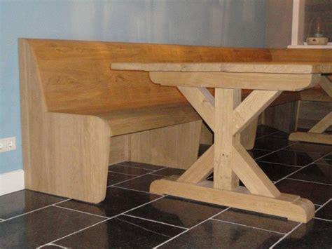 landelijke tafel zelf maken landelijke tafel eikenhout met bank te boveldt