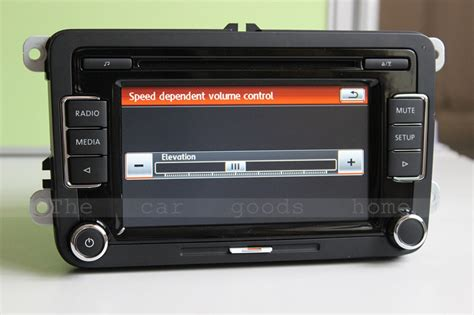 vw original rcd car radio usb volkswagen rcd  car cd player give  usb   fm antenna