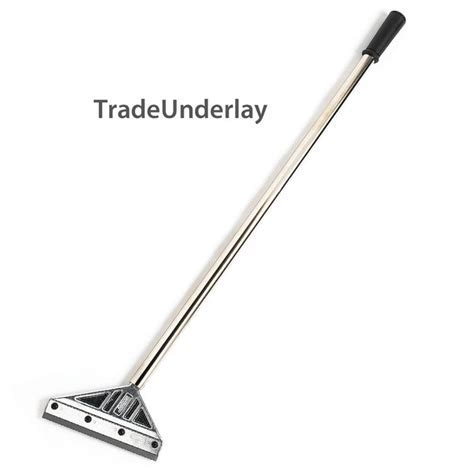 Buy Deluxe Crain flooring scraper long 6' extendible with
