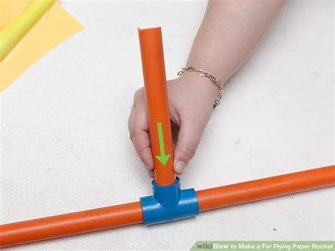 How To Make Paper Rocket That Flies - how to make a far flying paper rocket with pictures