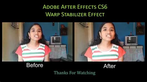 shake after effects remove shake in after effects cs6