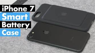 Apple iPhone 7 Smart Battery Case Review!   YouTube