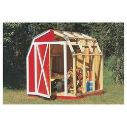 framer universal storage shed framing kit gambrel