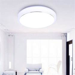 Flush Mount Led Ceiling Light Fixtures Floureon Led Ceiling Light Flush Mount Fixture L Indoor Home Lighting Ebay