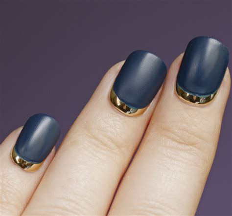 Paint Your Nails With Dashing Divas Think Pinkpolishes by Get The Look The Cnd Ruffian Matte Moon Manicure All