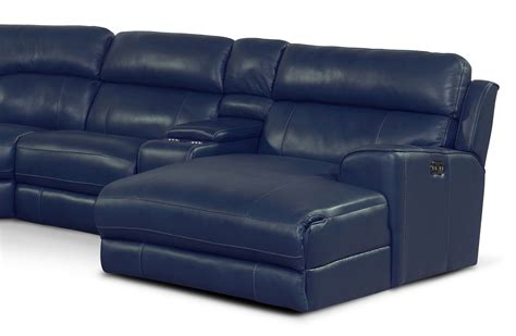 sectional with recliner and chaise newport 6 piece power reclining sectional with right