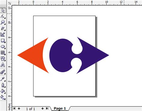 membuat logo carrefour dengan coreldraw haerul hayati membuat logo carrefour di corel draw