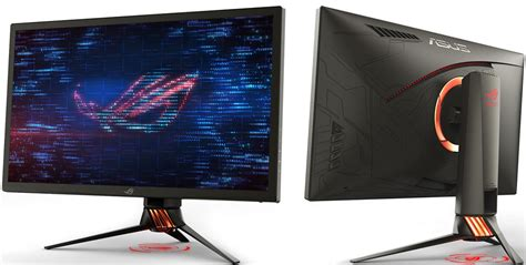 asus rog pg27uq monitor brings hdr and g sync together pc gamer