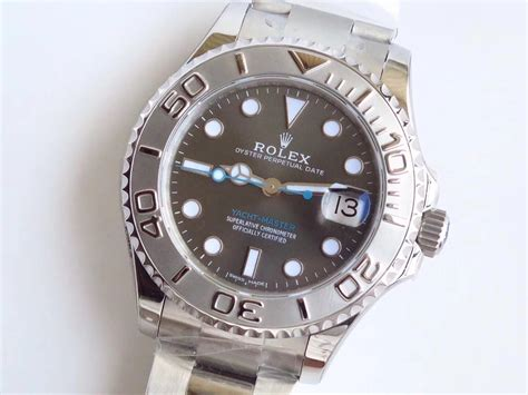 Jam Tangan Rolex Yacht Master Ss Gray Noob 3135 Best Esition spot on replica watches and reviews