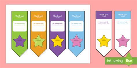 editable bookmarks english german editable thank you