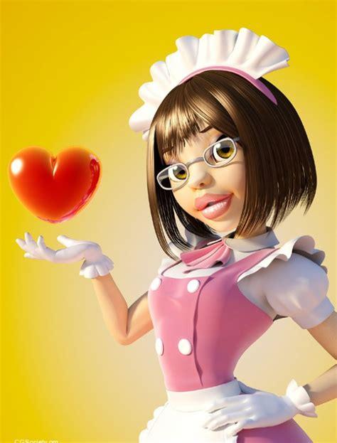 beautyincest3d com 25 creative and beautiful 3d cartoon character designs