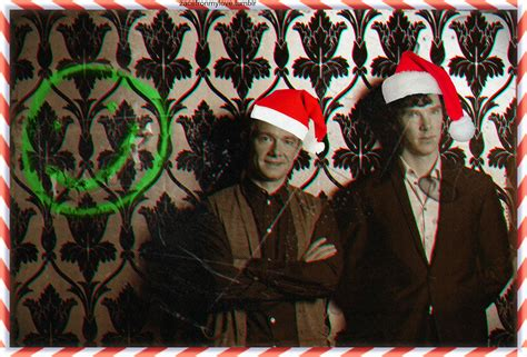sherlock christmas sherlock fan art 32920911 fanpop