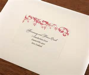 wedding address labels for invitations