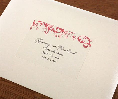 can you print addresses on wedding invitations prepping for your fall wedding invitations letterpress
