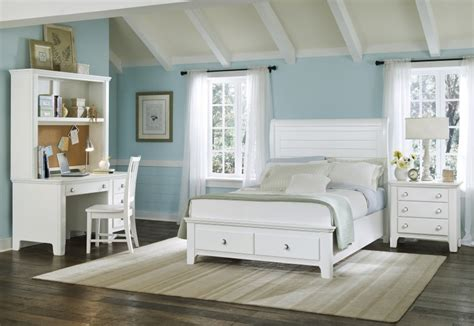 White Seaside Bedroom Furniture by Coastal Furniture At The Galleria