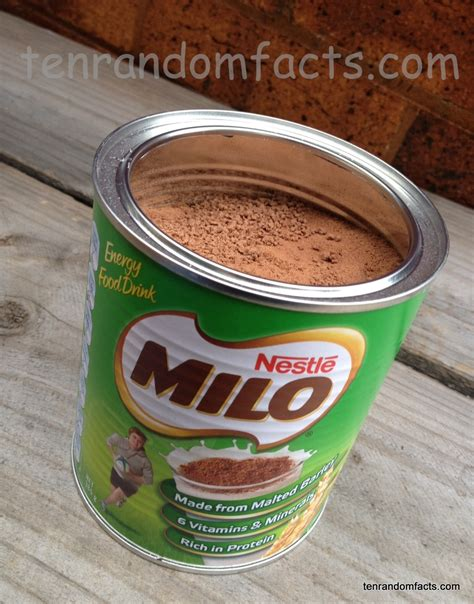 Milo Australian milo ten random facts