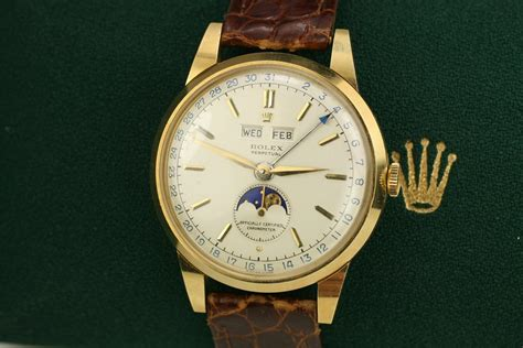 Rolex Moon Matic 1951 rolex moon phase ref 8171 for sale mens