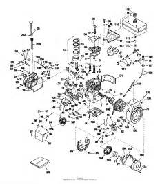 toro 38050 724 snowthrower 1981 sn 1000001 1999999 parts diagram for engine tecumseh model