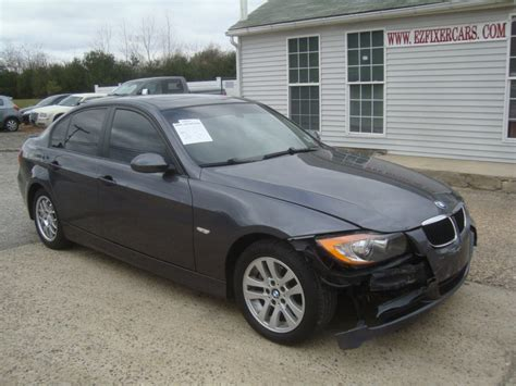 bmw damaged repairable cars for sale light damage 2007 bmw 3 series 328 rebuildable repairable