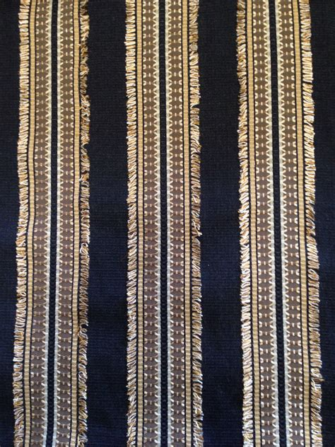 striped upholstery fabric for sofa gold and black eyelash striped upholstery fabric textured