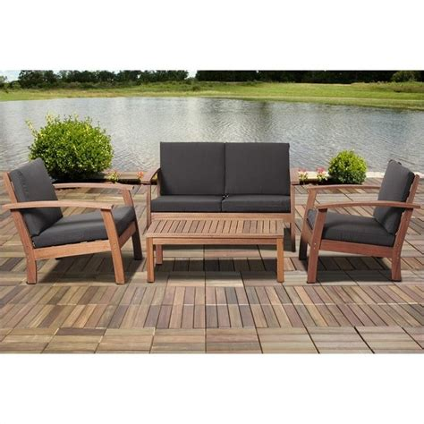 international home amazonia 4 outdoor sofa set in