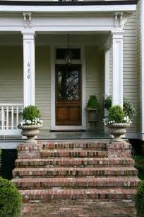 Front Door Stairs Brick Steps To Front Door Flickr Photo