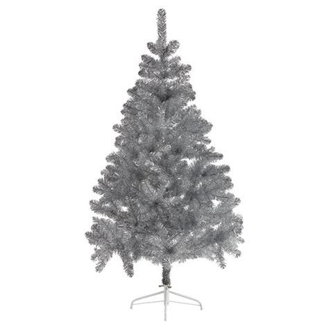 silver tinsel christmas tree from marks spencer