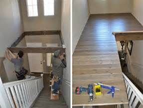 Decorative Floor Mats Home abracadabra double height foyer becomes diy loft area