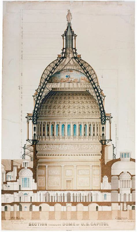 domed section of a church the untold story behind the engineering of washington dc