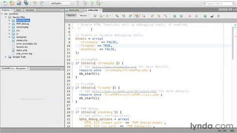 php tutorial lynda extending firefox with firebug and firephp