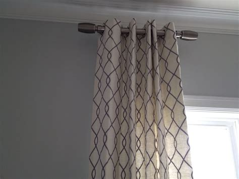 short curtain rod draperies and short curtain rods home pinterest