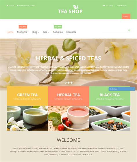 Shopify Themes Tea | 9 of the best shopify themes for tea coffee stores down