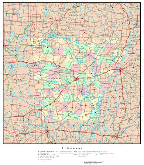 map arkansas arkansas highway map bnhspine