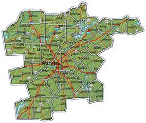 Atlanta Area Map by Atlanta Georgia County Map Related Keywords Amp Suggestions