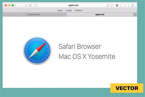 browser eps free safari for mac os x vector template titanui