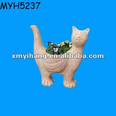 Terracotta Cat Planter by Decorative Garden Terracotta Cat Planter Buy Cat Planter