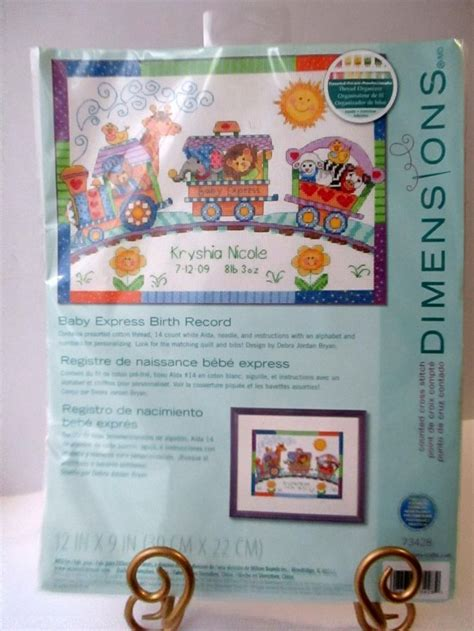 Dimensions Needlecrafts Counted Cross Stitch Baby Express Birth Record 135 Best Cross Stitch Kits Images On Cross Stitch Kits Counted Cross
